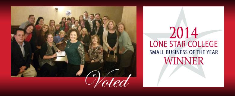 Voted Lone Star SmallBusiness Winner 2014